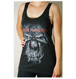Iron Maiden Women's Vest Tee: Final Frontier Eddie