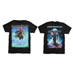 Iron Maiden Men's Back Print Tee: Tour Trooper