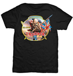 Iron Maiden Men's Tee: Trooper Robinsons Beer