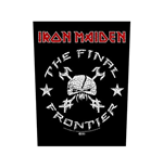 Iron Maiden Back Patch: The Final Frontier Vintage Skull