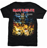 Iron Maiden Men's Tee: Holy Smoke
