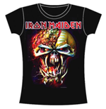Iron Maiden Women's Skinny Fit Tee: Final Frontier