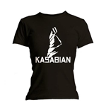 Kasabian Women's Skinny Fit Tee: Ultra Black