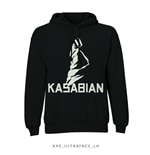 Kasabian Men's Hooded Top: Ultra Face