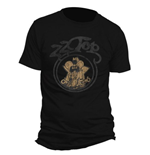 ZZ Top Men's Tee: Outlaw Village