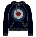 The Who Men's Hooded Top: Target Distressed