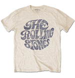 The Rolling Stones Men's Tee: Vintage 70's Logo