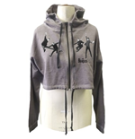 The Beatles Women's Hooded Top: Jump
