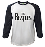 The Beatles Men's Raglan/Baseball Tee: Drop T Logo