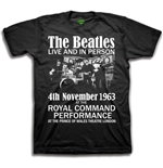 The Beatles Men's Tee: Live & in Person