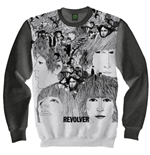 The Beatles Men's Sweatshirt: Revolver
