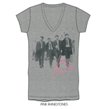 The Beatles Women's Rhinestone Tee: Love me do