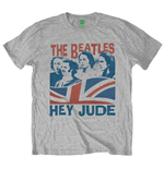 The Beatles Men's Tee: Windswept/Hey Jude