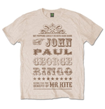 The Beatles Men's Tee: Mr Kite