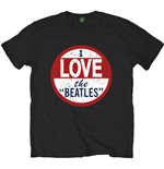 The Beatles Men's Tee: I love The Beatles