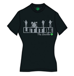 The Beatles Women's Tee: Rooftop