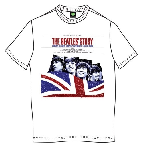 The Beatles Men's Tee: The Beatles Story