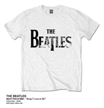 The Beatles Men's Tee: Drop T Live in DC