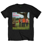 The Beatles Men's Tee: Strawberry Fields Forever