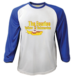 The Beatles Men's Raglan/Baseball Tee: Yellow Submarine