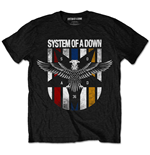 System of a Down Men's Tee: Eagle Colours