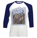 Star Wars Men's Raglan/Baseball Tee: Chewie & Hans