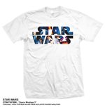 Star Wars Men's Tee: Space Montage 3.