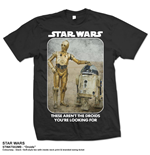 Star Wars Men's Tee: Droids
