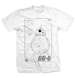 Star Wars Men's Tee: BB-8 Tech