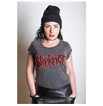 Slipknot Women's Acid Wash Tee: Logo