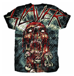 Slayer Men's Sublimation Tee: War Painted Blood
