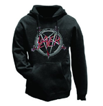 Slayer Men's Hooded Top: Pentagram