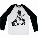 Slash Men's Raglan/Baseball Tee: Snow Blind
