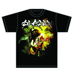 Slash Men's Tee: Flames