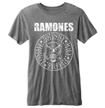Ramones Men's Burn-out Tee: Presidential Seal