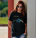 Pink Floyd Women's Tee: Dark Side of the Moon