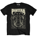 Pantera Men's Tee: 101 Proof Skull