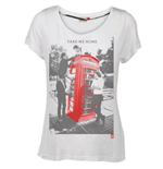 One Direction Women's Skinny Fit Tee: Take me Home