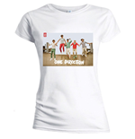 One Direction Women's Skinny Fit Tee: Band Jump