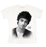 One Direction Women's Tee: Zayn Solo B&W