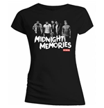 One Direction Women's Tee: Midnight Memories
