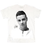 One Direction Women's Tee: Liam Solo B&W