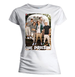One Direction Women's Skinny Fit Tee: Airstream