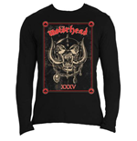 Motorhead Men's Long Sleeved Tee: Propaganda Anniversary