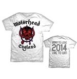 Motorhead Men's Back Print Tee: World Cup England