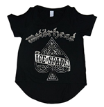 Motorhead Women's Cut-out Tee: Ace of Spades