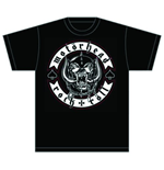 Motorhead Men's Tee: Biker Badge
