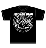 Machine Head Men's Tee: Classic Crest