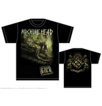 Machine Head Men's Back Print Tee: Scratch Diamond Cover