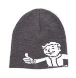 FALLOUT 4 Unisex Vault Boy Approves Cuffless Beanie, One Size, Dark Grey